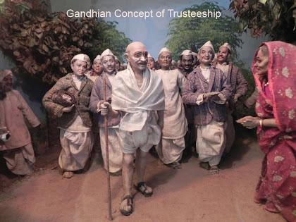 Gandhian Concept Principle of Trusteeship