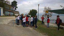 Οι μαθητές της Ε΄ τάξης ενημερώνονται για την ιστορία της λίμνης Βόλβης