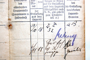 Close-up of the extracts from hospitals