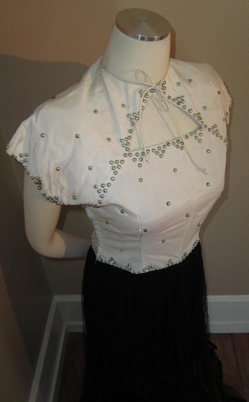 TUXEDO Gown Art Deco