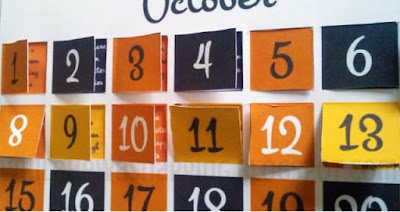 Free Printable Halloween Count Down