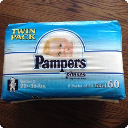 ebay pampers