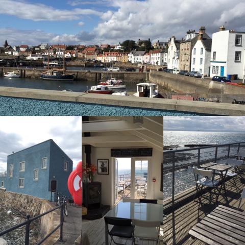 East Pier Smokehouse, St Monans - #LoveFife Chocolate, Seafood and Gin in the East Neuk