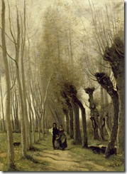 Jean-Baptiste-Camille Corot (French, 1796-1875). 'The Willows of Marissel,' 1857. oil on canvas. Walters Art Museum (37.194): Acquired by William T. Walters, 1878-1884.