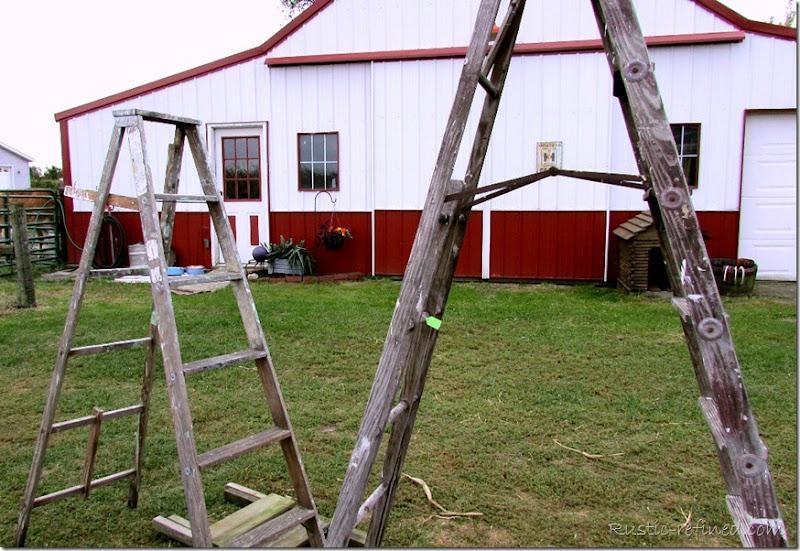 Salvaged Ladders