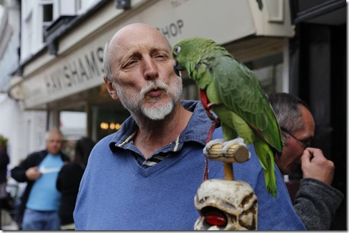 Phil and Parrot
