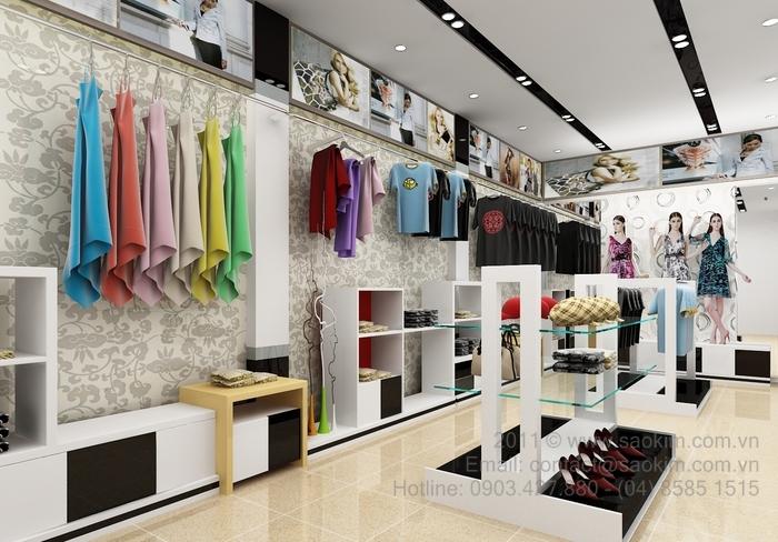 Thi công, sửa chữa cửa hàng, shop thời trang, showroom, quán cafe
