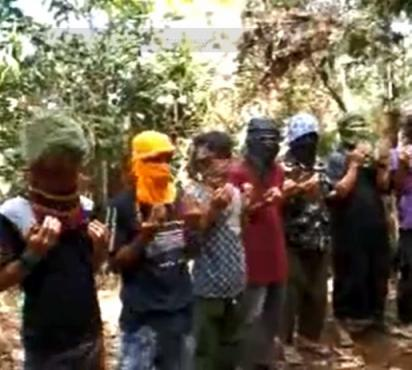Image of Member of Abu Sayyaf Group Confessed that There is Nothing Wrong with Killing People