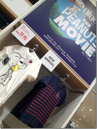 UNIQLO X THE PEANUTS MOVIE
