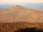 Old Rag Mountain, Shenandoah National Park in Virginia.