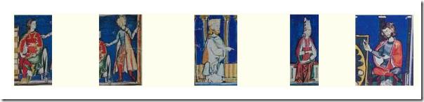 Patrón para manto medieval