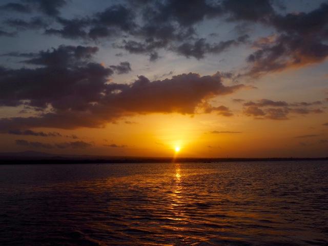 Sunset in the Isletas of Granada, Nicaragua