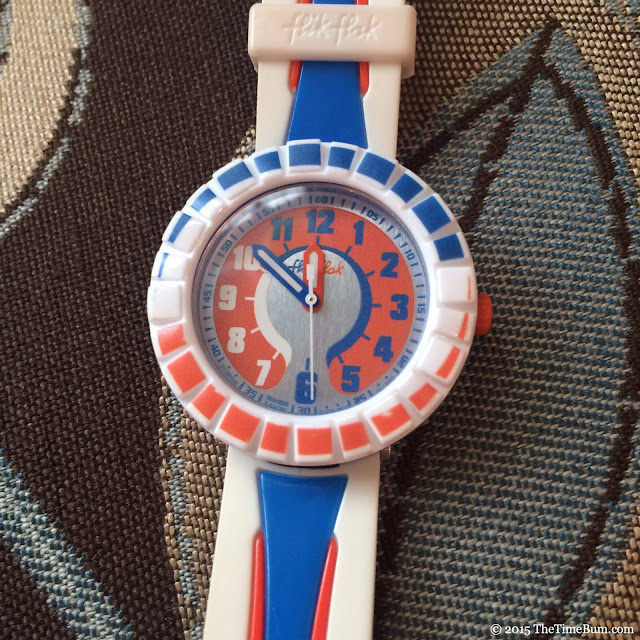 Swatch Flik Flak All Around Orange & Blue