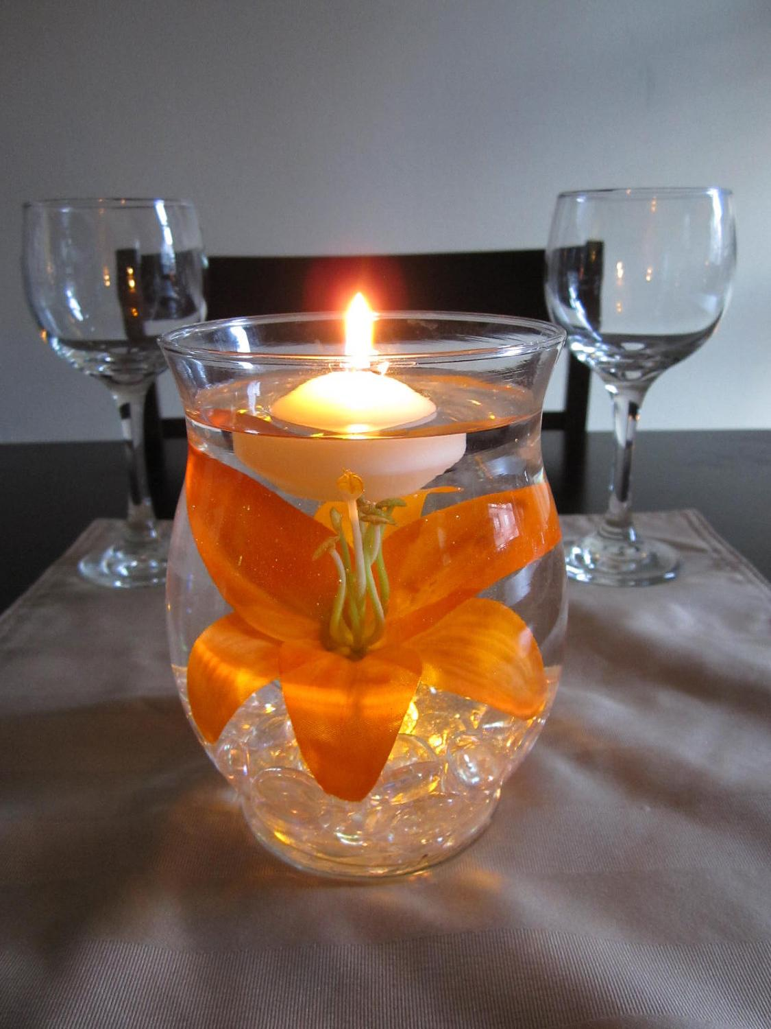 15  Discount Black Friday Cyber Monday - Hurricane Vase Floating Candle