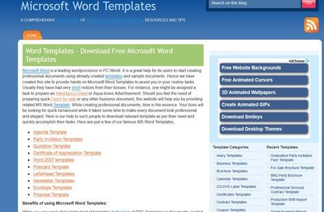 word-templates