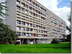 Unité d'habitation de Le corbusier à Marseille (Cité Radieuse)