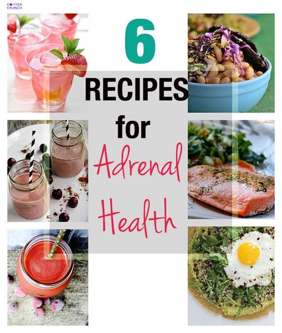 6 recipes for adrenal health - foods that support high intensity training or marathon runners