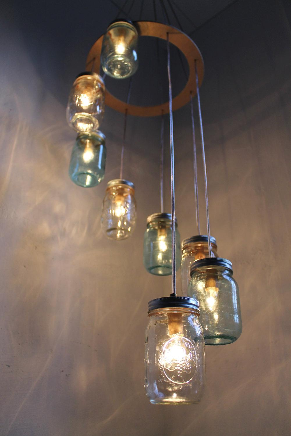 Hanging Pendant Swag Light