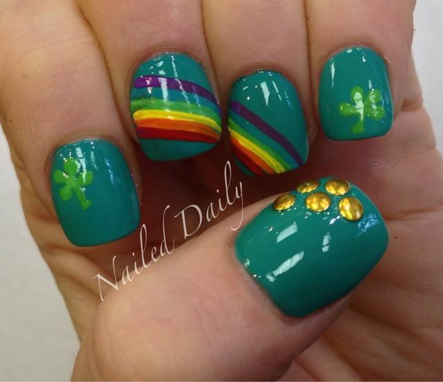 4 Leaf Clover Nail Design Best Nail Designs 2018