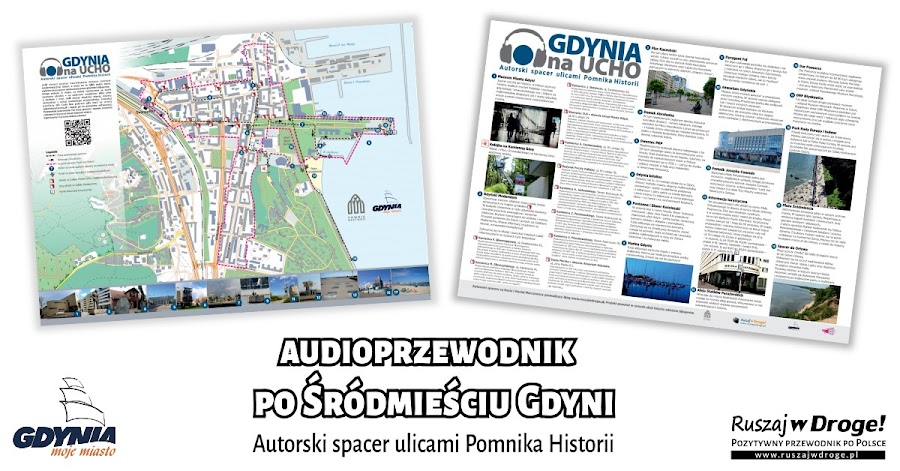 Tak wygląda mapa Gdynia na ucho - Autorski spacer ulicami Pomnika Historii