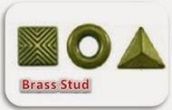 brass stud