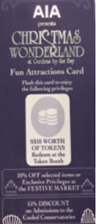 Fun Attractions Card