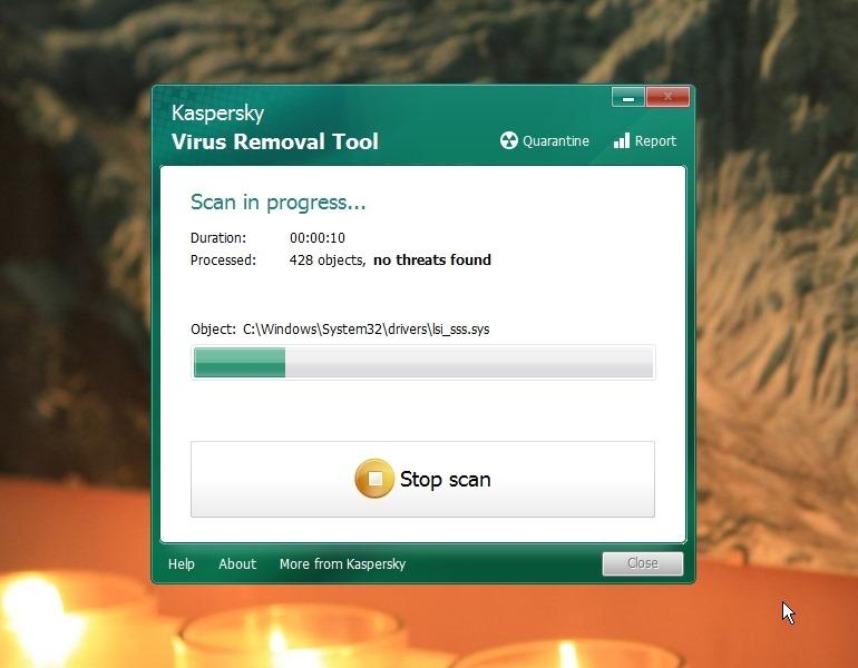 kaspersky free virus removal tool