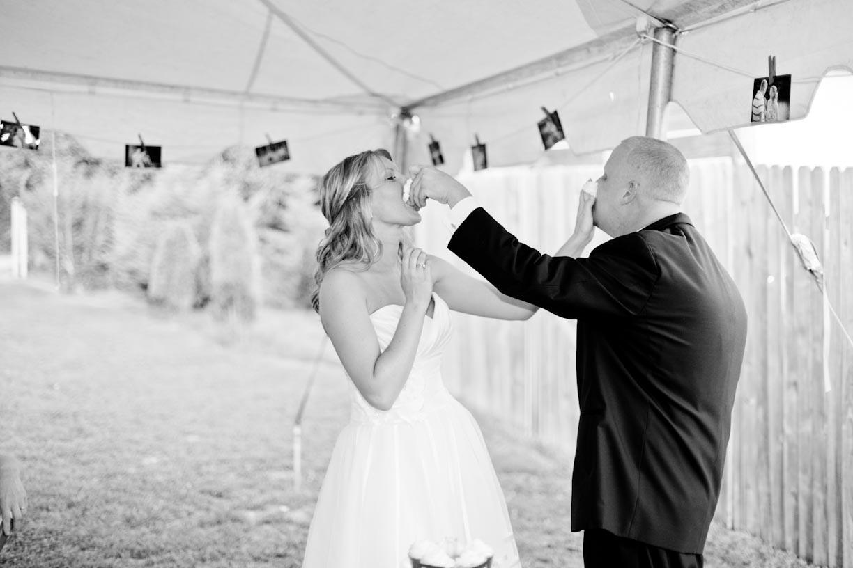 Backyard Wedding: Karly   Brandon