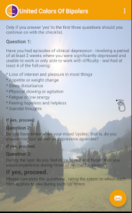 Bipolar Disorder Test screenshot for Android