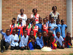 The whole group of Grade R kids from Welani.