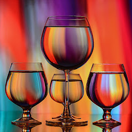 Brush Strokes by Rakesh Syal - Artistic Objects Glass