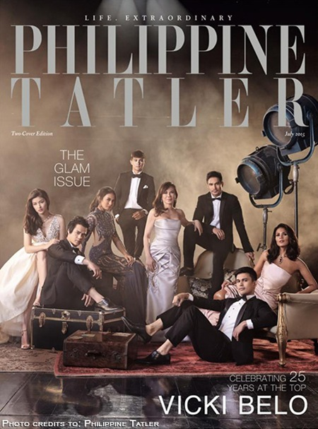 Piolo, Sarah, LizQuen grace Philippine Tatler's Glam issue