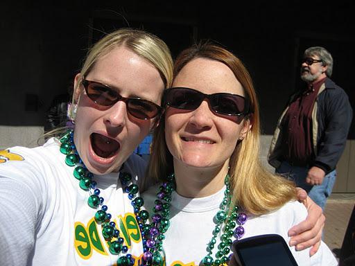 Mardi Gras. Downtown Lafayette