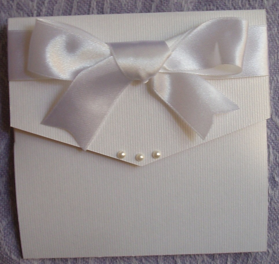 Pocket Fold Wedding