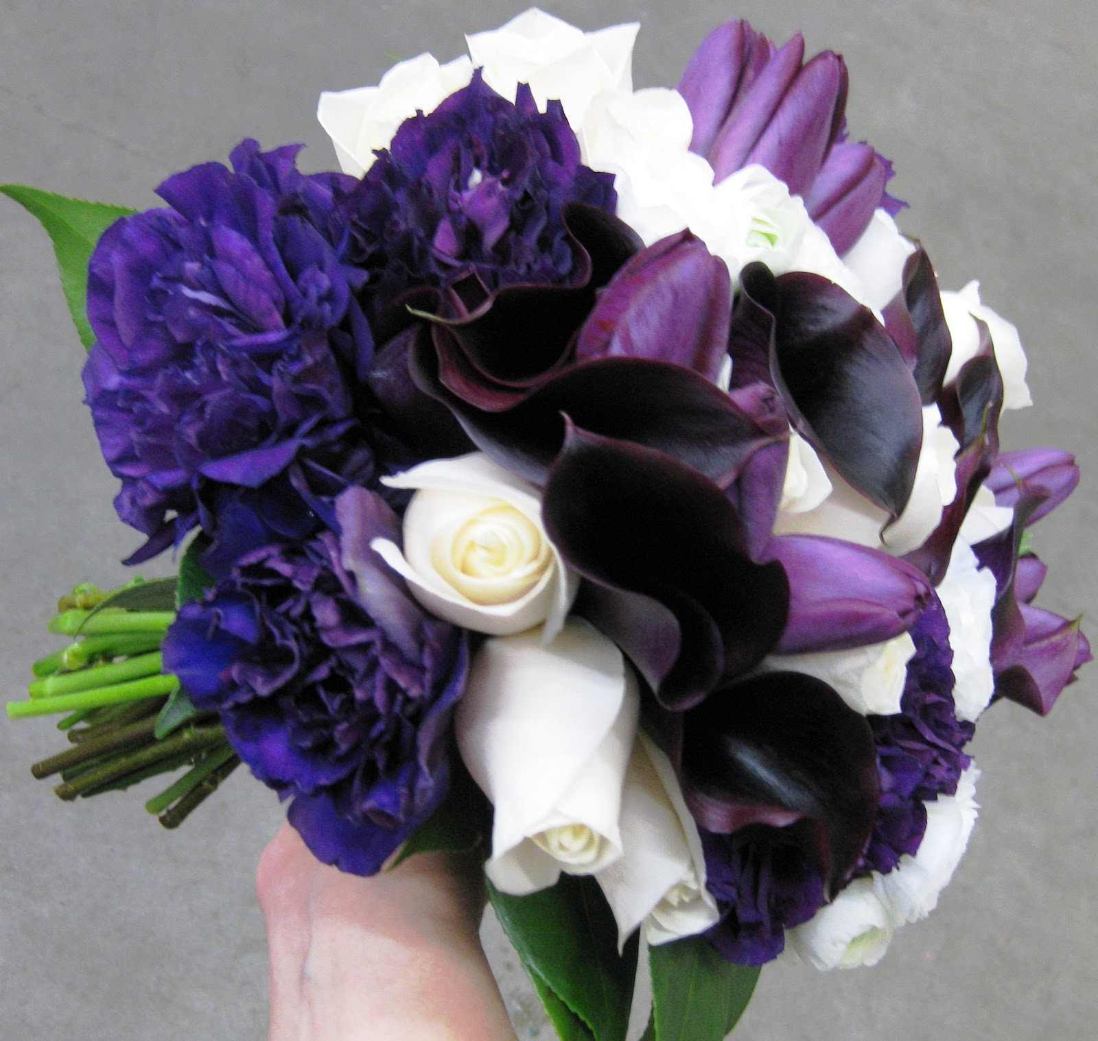 wedding flowers, white