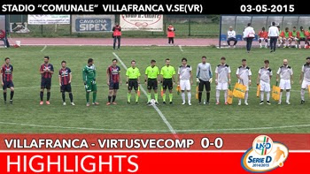 Villafranca - VirtusVecomp - Highlights del 03-05-2015