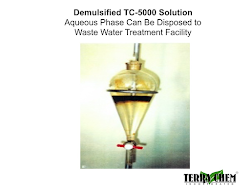 demulsified tc-5000 solution aqueous phase can be disposed to waste water treatment facility