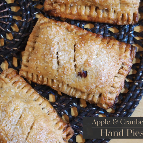 Apple and Cranberry Hand Pie