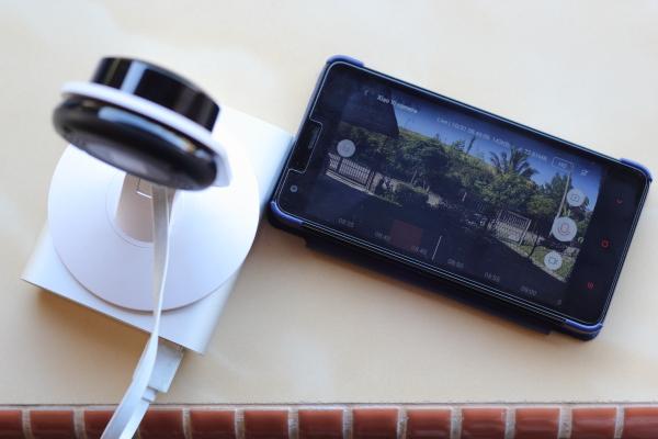 pairing Xiaomi Xiaoyi Ants Camera