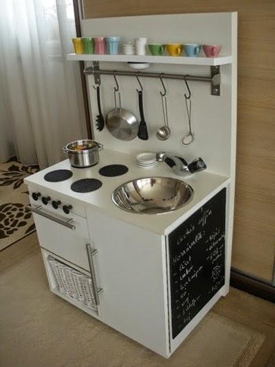 METAMORFOZY IKEA kuchenki dla dzieci  conchitahome pl -> Kuchnia Dla Dziecka Jak Zrobic