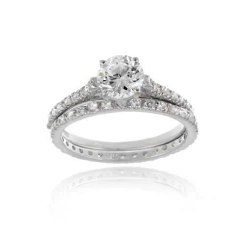 Bridal Engagement Ring Set