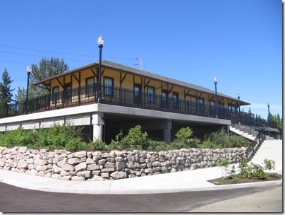 IMG_7665 Oregon City Amtrak Station on September 11, 2010