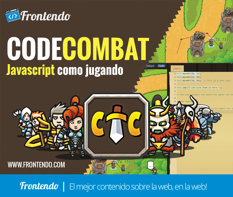 Codecombat: aprende Javascript como jugando