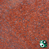 12x12 New Imperial Red Polished Granite Tile