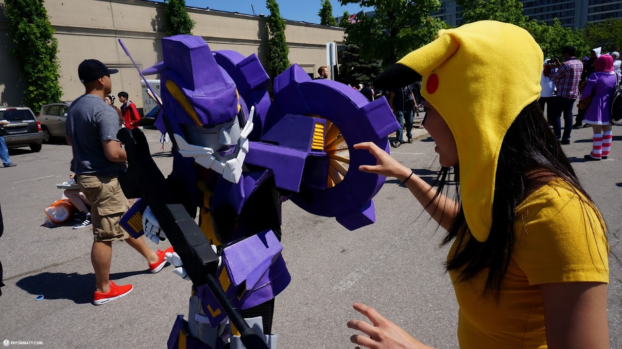Canada attach at anime north 2015 attack at anime north 2015 in toronto ontario