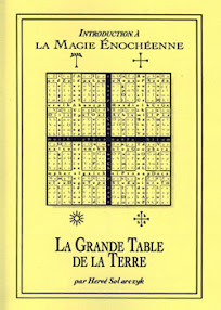 Cover of John Dee's Book La Grande Table de la Terre French Version