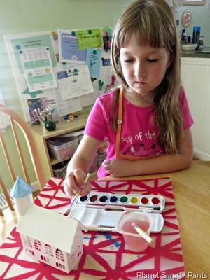 Paint a Paper Castle