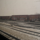 Scenery from the Amtrak train heading to Chicago 01142012a