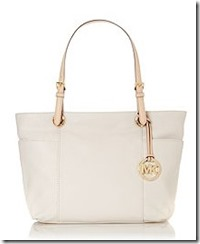Michael Michael Kors Jet Set neutral tote