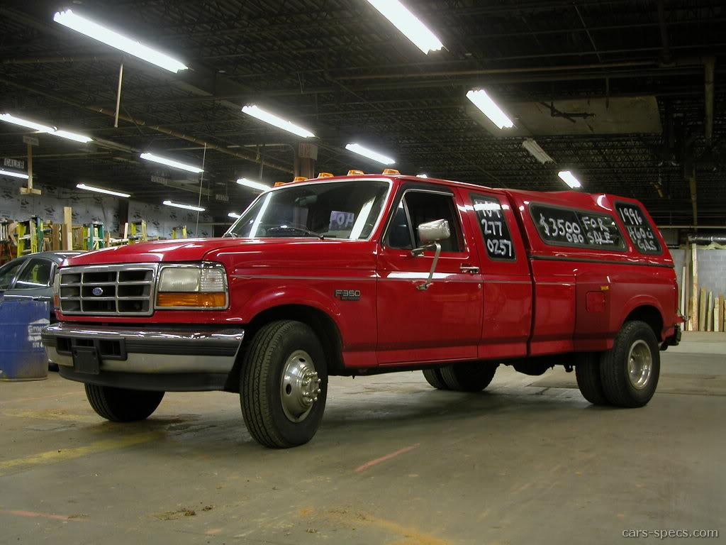 1994 ford f 350 extended cab specifications pictures prices. Black Bedroom Furniture Sets. Home Design Ideas